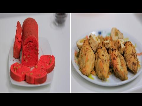صدور دجاج محشية خضار - ارز بالكبد و القوانص و وصفات اخرى : على قد الأيد حلقة كاملة