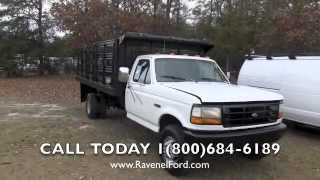 1993 Ford F-450 Xl Flatbed Review * Charleston Truck Videos * For Sale @ Ravenel Ford