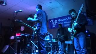 """Aynsley Lister Band """"Champagne and Reefer"""" live @ Vonnies Blues Club Cheltenham UK"""