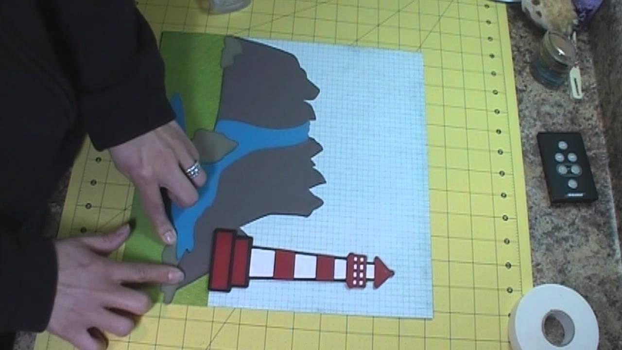 Scrapbook ideas hawaii - Lighthouse Scrapbook Layout Hawaii Episode 208