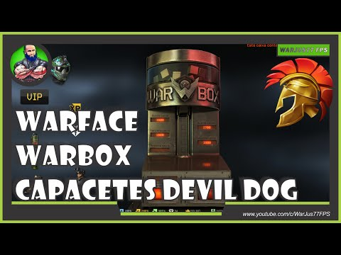 WARFACE - WARBOX CAPACETES DEVIL DOG!
