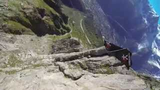 TURBOLENZA: Alex Duncan fast wingsuit flight