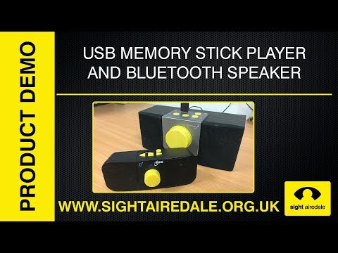 The Sovereign USB MP3 Memory Stick Player and Bluetooth Speaker