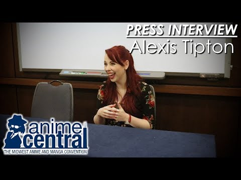 Alexis Tipton Press Interview - Anime Central 2017