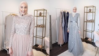 ASOS Modest Evening Gown Try-On Haul | The Struggle Is Real