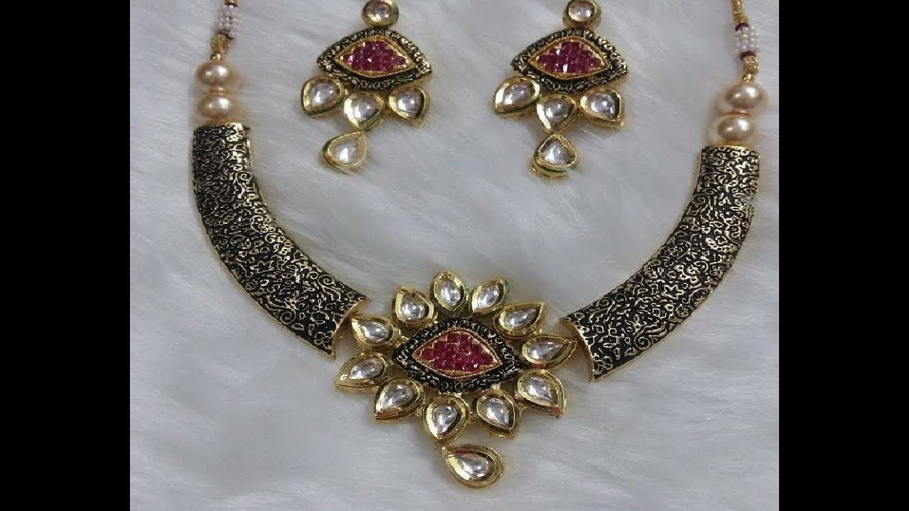 Vintage Kundan Necklace Collections