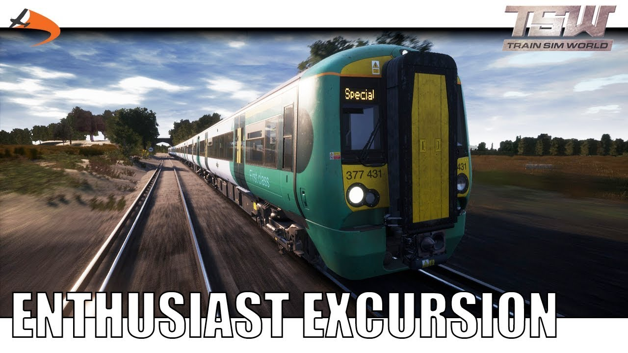 [TSW] Enthusiast Excursion - Train Sim World East Coastway|Drawyah