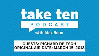 Take Ten with Alex Roux: The Athletic's Richard Deitsch (Air Date: March 15)  | Big Ten Basketball thumbnail
