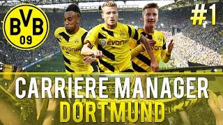 Fifa 15 | Carrière Manager | Dortmund #1 | (FR XBOX ONE)