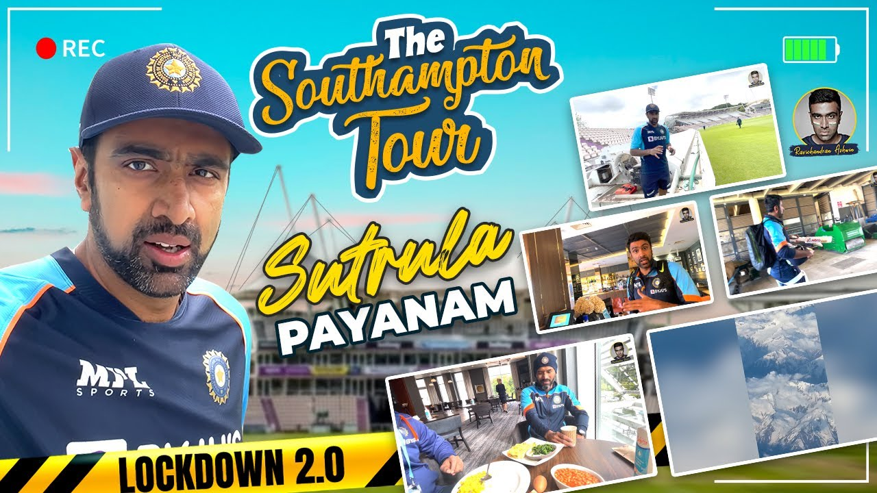 The Southampton Tour: Sutrula Payanam | WTC Final Build Up | VLog | R Ashwin