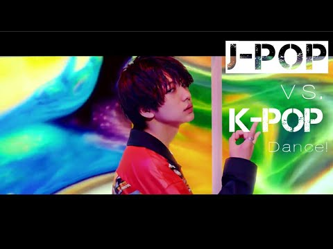 K-pop 🇰🇷 vs j-pop 🇯🇵 dances 2018