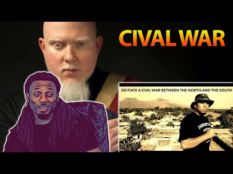 IMMORTAL TECHNIQUE FT KILLER MIKE, BROTHER ALI, AND CHUCK D - CIVAL WAR [ REACTION ] HE KILLED IT!