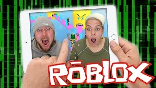 HELP US!!!! Escape the Ipad (ROBLOX) Gameplay
