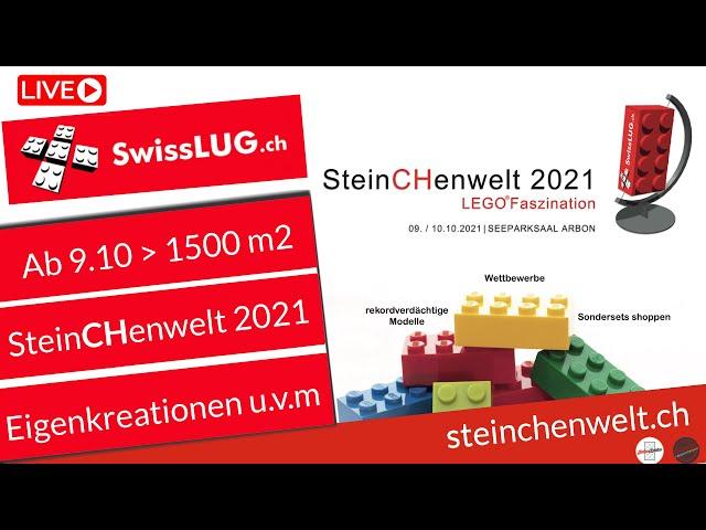 Videonachtrag zum Livestream Steinchenwelt von Andreas Kunz mit weiteren Infos zu der Ausstellung.
