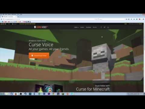 Vídeo Voice curse