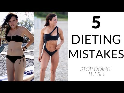 5 COMMON WEIGHT LOSS MISTAKES – Stop doing these!