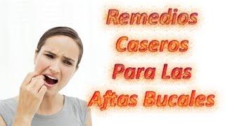 Watch now trucos caseros para las aftas bucales - Sequedad de boca remedios naturales ...