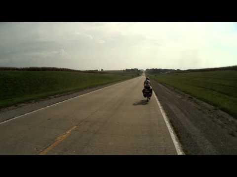 Route 20 east of Marshall Missouri