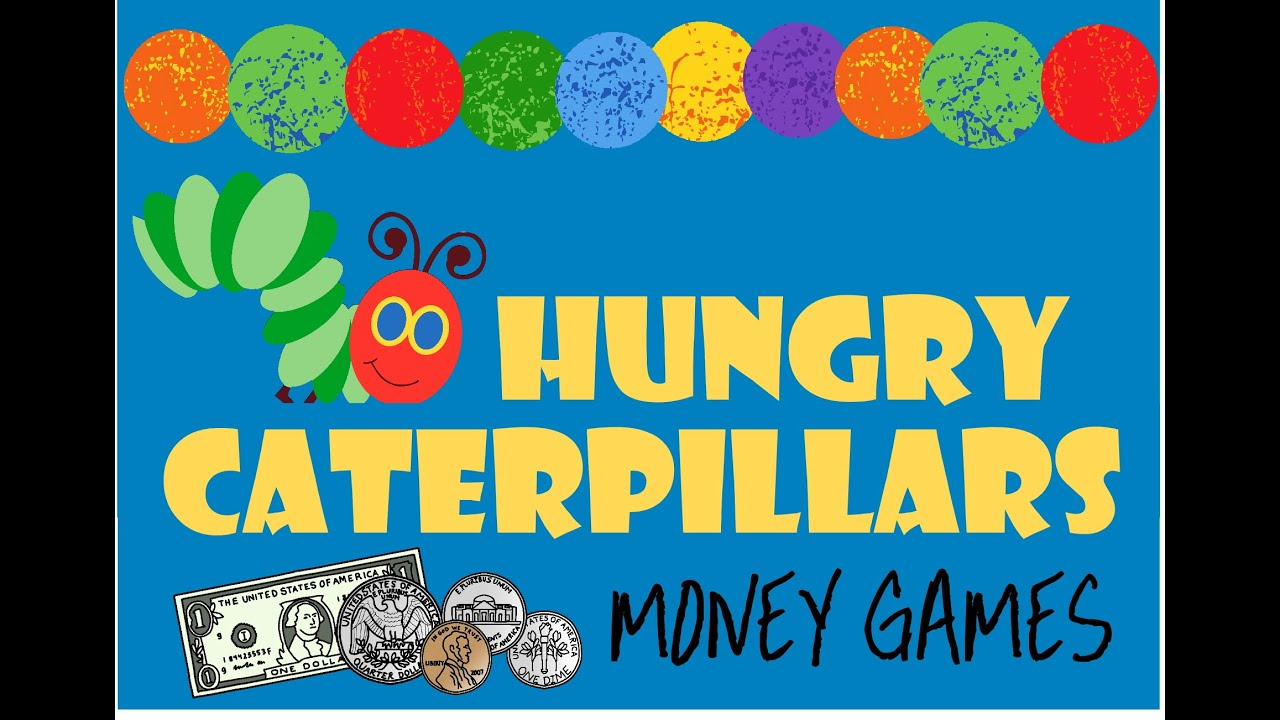 hight resolution of FREE Hungry Caterpillars Money Game