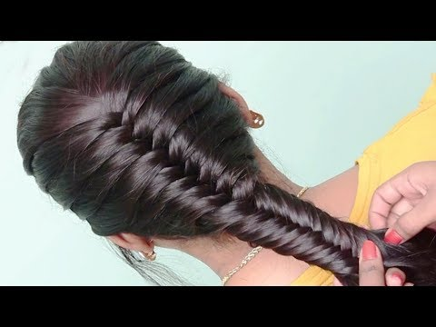 5 Best Hairstyles for Party, College, Work | hair style girl |  Easy hairstyles for Long Hair thumbnail