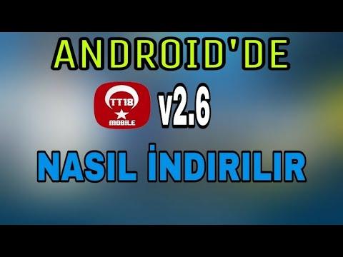 TT 18 Mobile V2.6 Kurulum -ANDROİD-