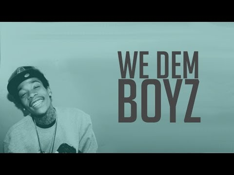 Wiz Khalifa - We Dem Boyz | Lyrics on screen