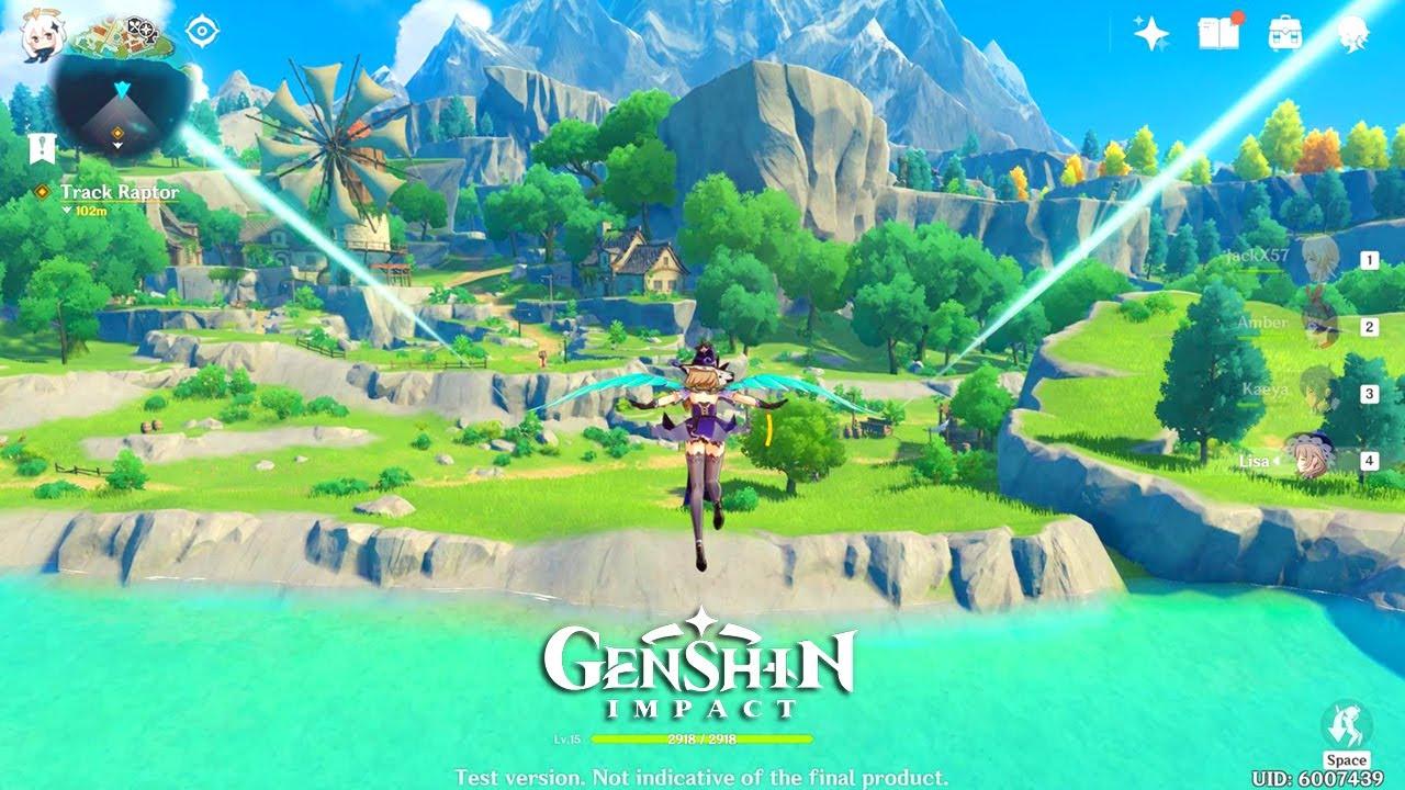 Genshin Impact Act1 Dungeons Quest Gameplay Mondstadt Map Final Cbt Pc 2020 Youtube