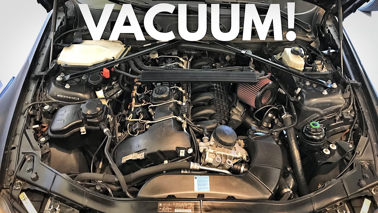 how to replace your bmw vacuum pipe! diy!