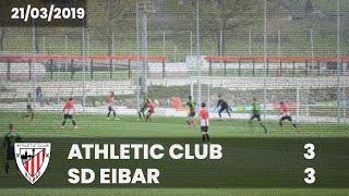 amistoso lagunartekoa 18 19 athletic club 3 sd eibar 3