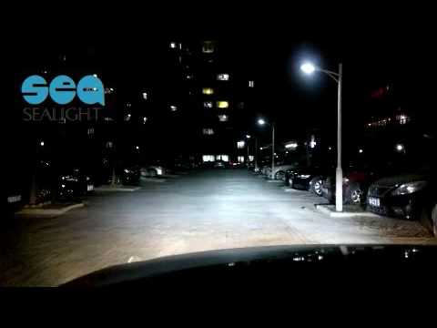 Sealight H4 9003 Led Headlights Bulb Kit Driving At Night