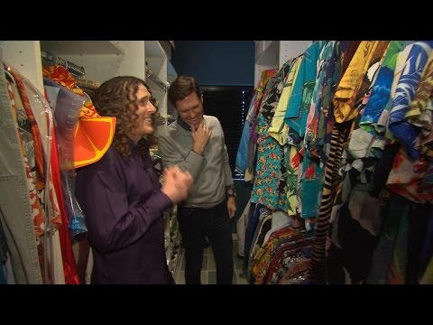 Weird Al Yankovic's Hawaiian shirt collection