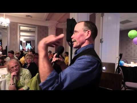 Peter Ostrum Charlie Bucket helps Seneca Community Players