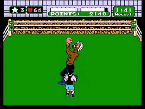 Mike Tyson's Punch Out - Beat Great Tiger Without Damage