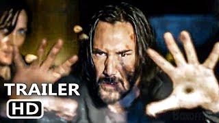 MATRIX 4 RESURRECTIONS Trailer Brasileiro Legendado (2021)
