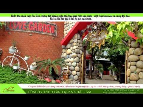 Những quán cafe sân vườn đẹp