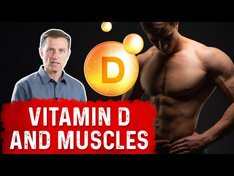 Vitamin D's Influence Over Your Muscles