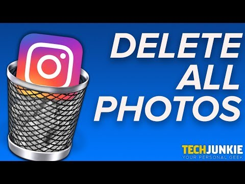 How to Delete ALL of Your Instagram Photos
