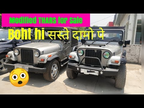 Thars For Sale 2 Modified Mahindra Thar For Sale Preowned Suv
