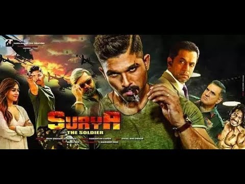 SURYA THE BRAVE SOLDIER ( Naa Peru Surya) | Dubbed in Hindi | Allu Arjun
