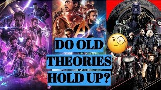 Old Avengers Endgame Theories