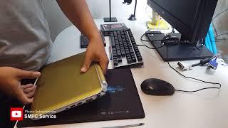 Laptop HP mini update HHD to SSD.