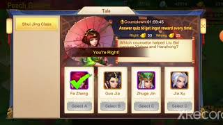 Dynasty Heroes - Shui Jing Class 6 (31 Questions)