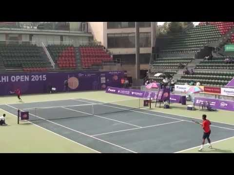 Somdev Dev Varman vs Sanam Singh from Quarter Final, Delhi Open 2015