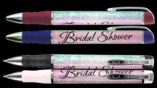 Bridal Shower Favors - Pen Favors Gifts (BSPN0103A)