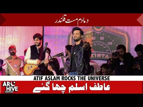Atif Aslam Rocks The Universe