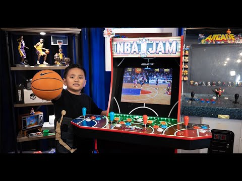 Kam reviews the new Arcade1Up NBA Jam Special Edition. from Kam's Gameroom