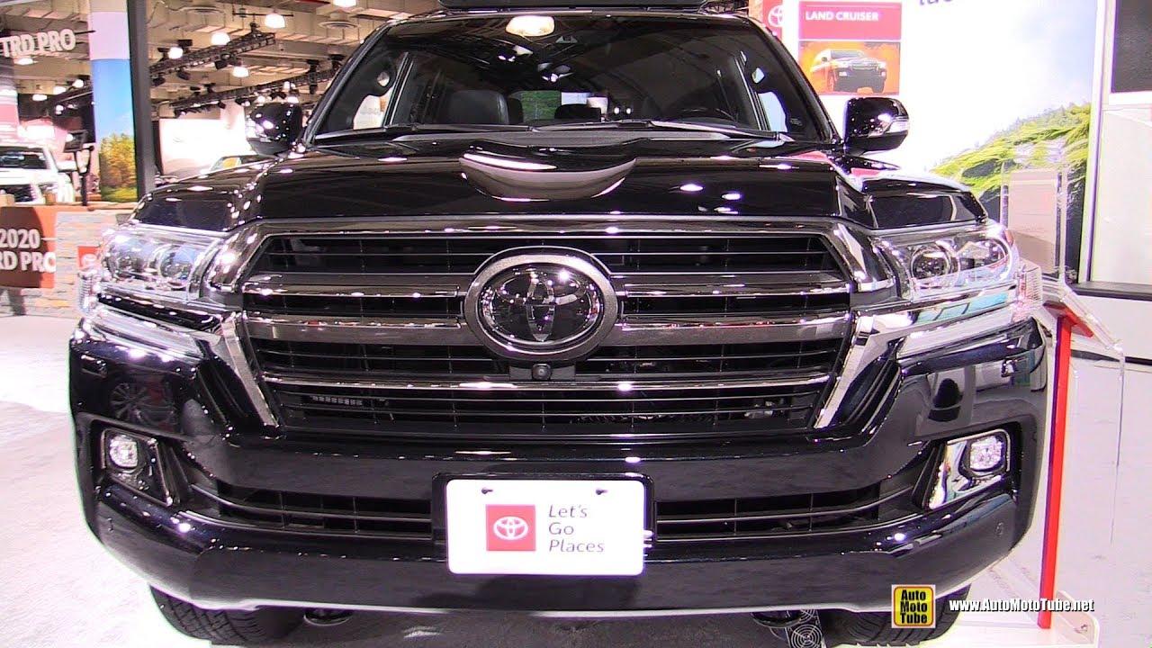 2020 Toyota Land Cruiser Heritage Edition Exterior And Interior Walkaround 2019 Ny Auto Show Youtube