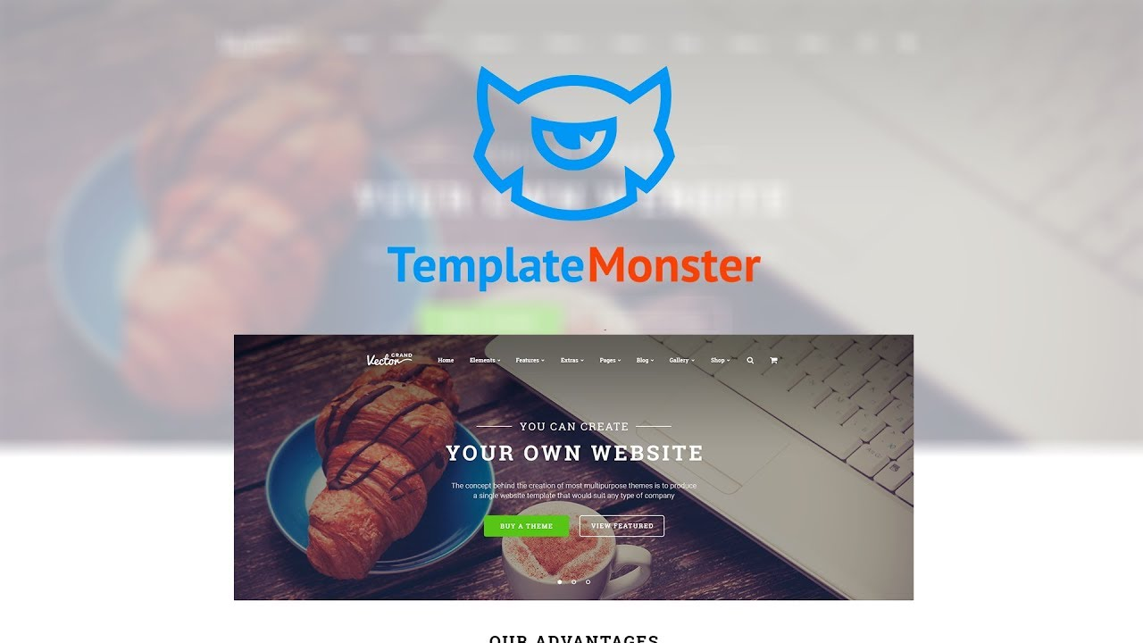 Grand Vector Design Studio Multipurpose Website Template - Design your own website template