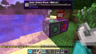 RFTools shield feature: disjoint shields