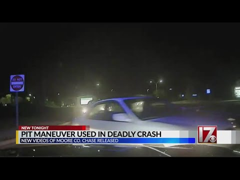 Video released of deadly Moore County chase and crash